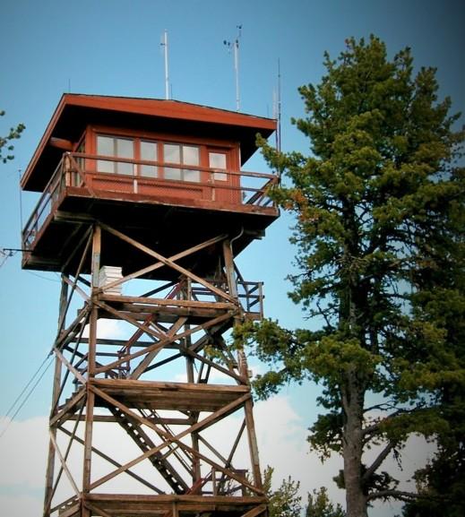 Kuefler Lightning Fire Lookout Towers