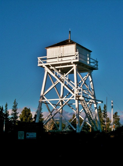 Forest Fire Lookout Towers Kuefler Lightning
