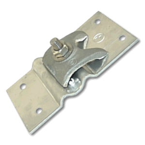 406 - stamped alum bonding plate