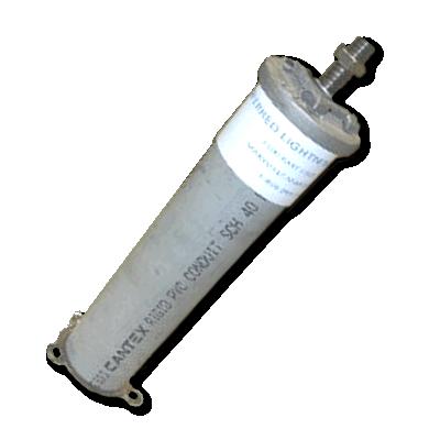507-509 PVC Threaded Rod & Cap Assembly