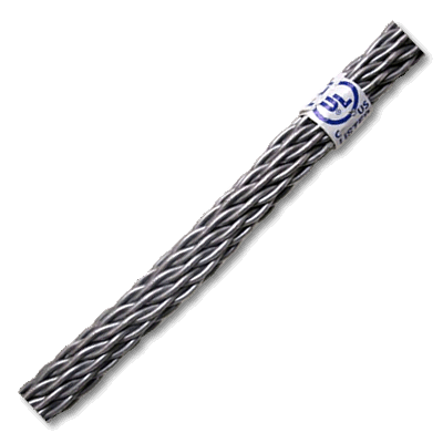 Aluminum Lightning Protection Conductor Smooth Weave