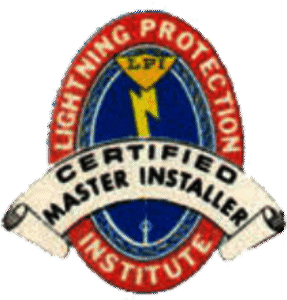 Lightning Protection Institute Certified Installer