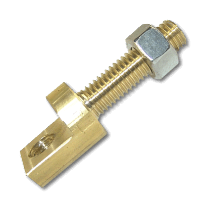 Copper Right Angle Air Terminal Adapter